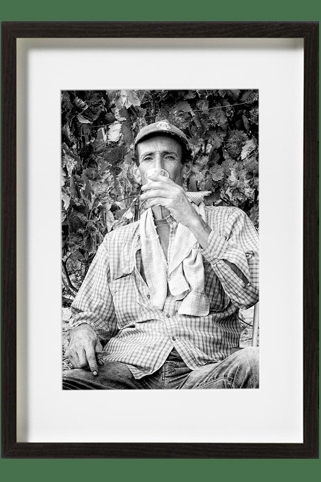 C'est un moment de détente et le dernier repas autour d'un verre de vin de l'Alentejo.