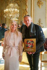 présentation du livre l'Italia del Père Lachaise à l'ambassade d'Italie