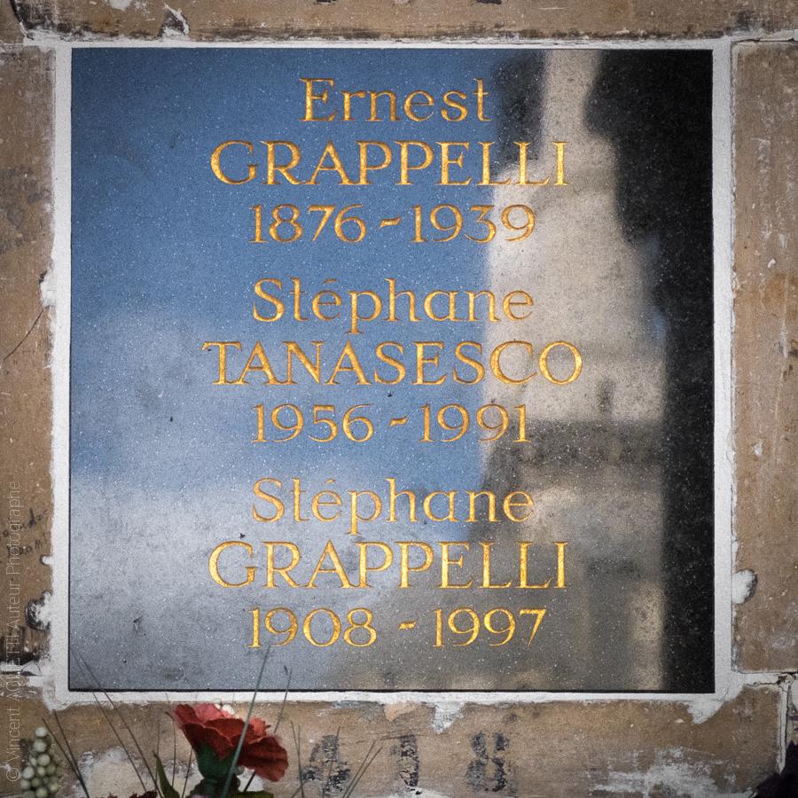 Colombarium du Père Lachaise, Stéphane Grappelli.