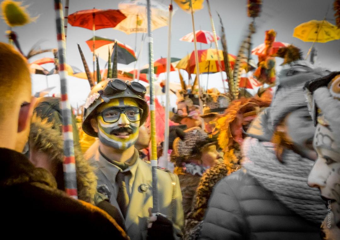 jeune carnavaleux dans le rigodon.
