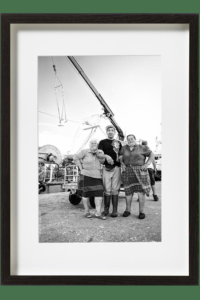 Un portrait de la family docks, heureux de poser en cette fin de journée pour immortaliser ce moment.