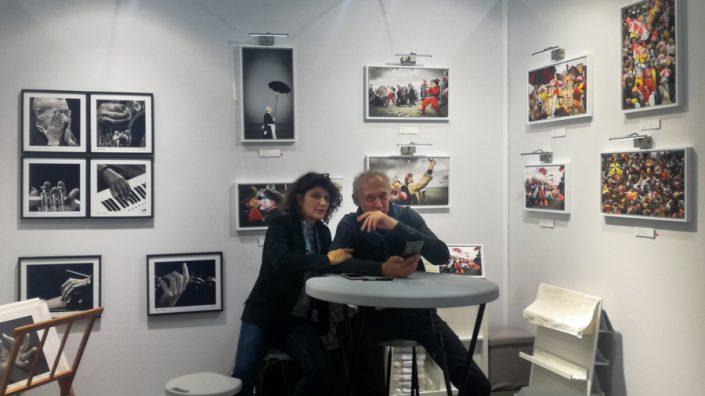 Salon ART3F de Bruxelles Le Carnaval de Dunkerque s'expose
