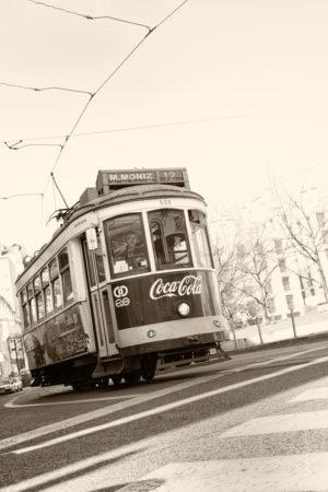 Electrico. Les célèbres tramways de Lisbonne qui donnent à cette ville un charme fou.