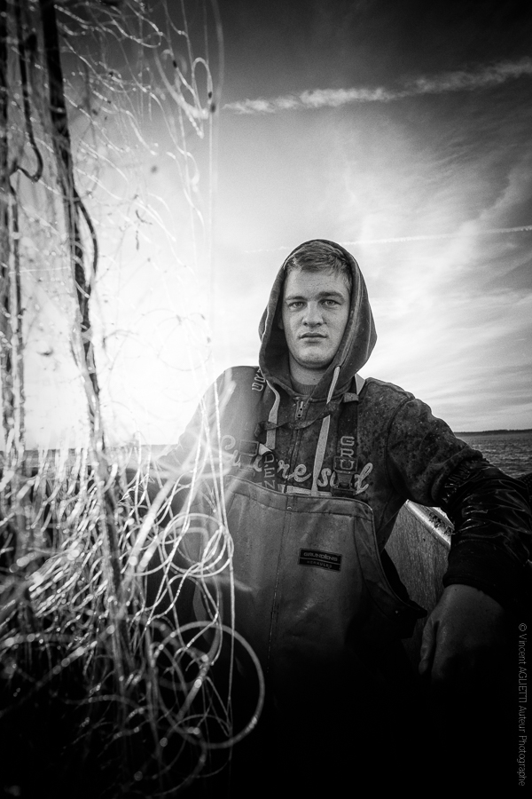 Camille. Marin pêcheur du bassin d'Arcachon.