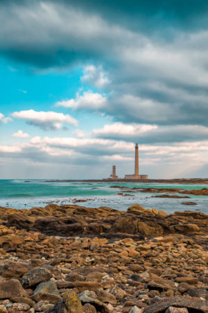 Phare de Gatteville. Un des phare de la pointe du Cotentin.